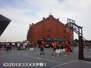 《動画》 新しいスポーツ 3x3 バスケット 横浜・赤レンガ倉庫